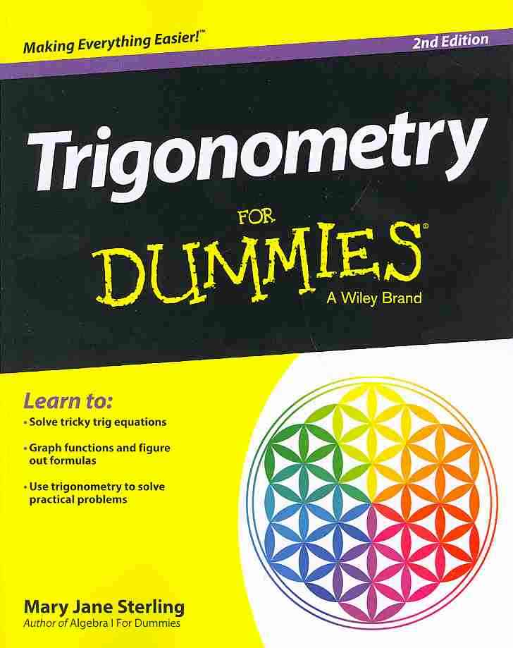 Trigonometry for Dummies By Sterling, Mary Jane